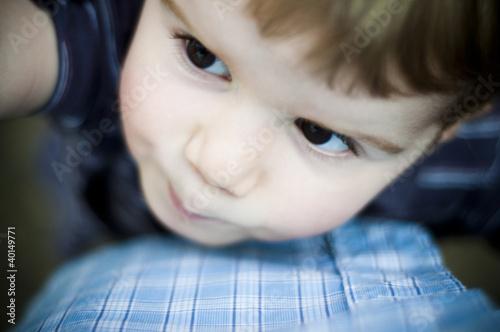 Portrait d'un jeune enfant