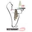 waiter symbol