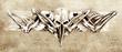 Indian bones bracelet, Sketch of tattoo art,