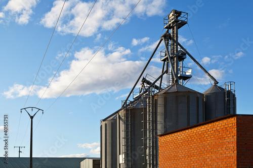 Old Grain Silos