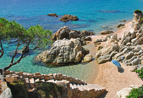 idyllisches Plätzchen an der Costa Brava
