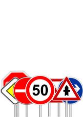 Verkehrszeichen als Vektoren