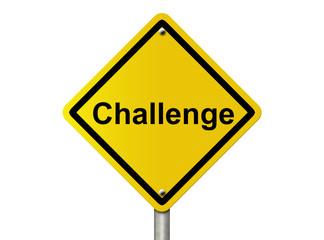 Challenge Ahead warning