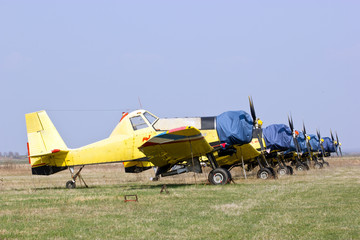 Squadron agricultural and extinguishing aircraft
