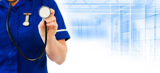 healthcare nurse stethoscope