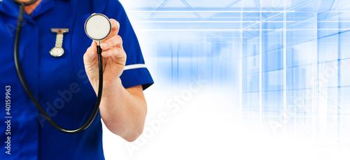 healthcare nurse stethoscope