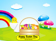 abstract colorful  easter background