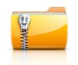 Zip folder icon