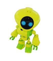 Smart bright robot figurine