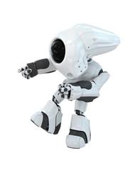 Modern futuristic robot
