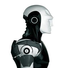 Handsome robot