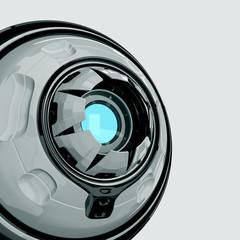 Stylish robotic web camera