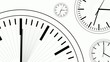 Clocks Modern Style Dials Mono HD