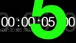 Graphic Countdown Green Screen and Luma HD