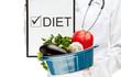 Doctor prescribing diet