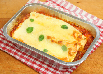 Cannelloni Ready Meal