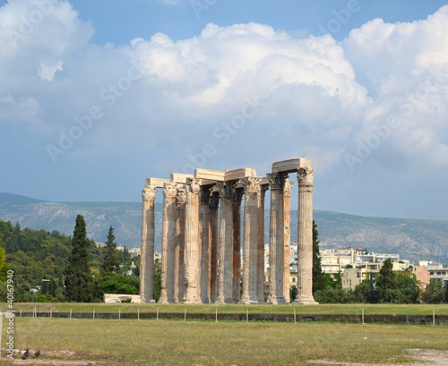Zeus temple in Greece