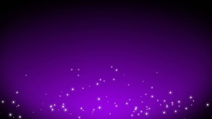 Violet Particle Background Loop