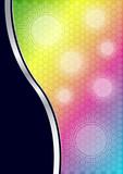 Soyut bir background poster