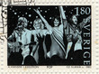 ������, ������: abba postage stamp