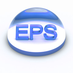 3D Style file format icon - EPS