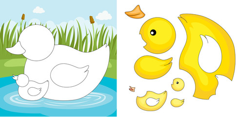 Duck puzzle