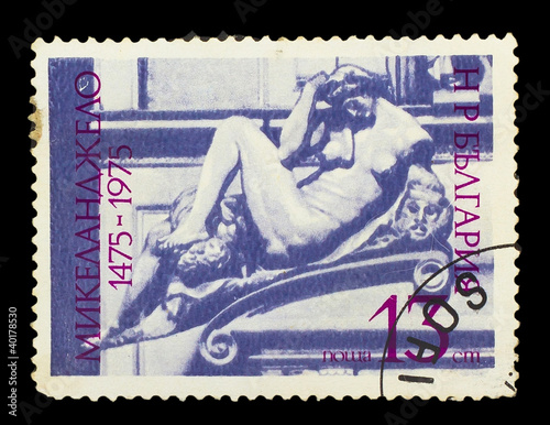 BULGARIA - CIRCA 1975 : stamp printed in Bulgaria, shows of Mich
