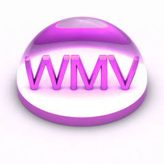3D Style file format icon - WMV