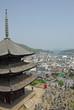 三重の塔と尾道の景観