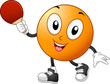 Table Tennis Mascot