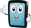 Tablet PC Mascot