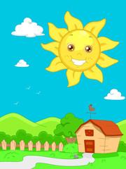 Sunny Scene