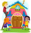 Easter Egg House