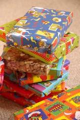 Presents from Sinterklaas a typical dutch celebration