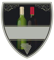 Weinflaschen Label