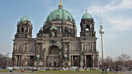 Berliner Dome timelapse