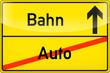 Bahn statt Auto