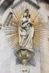 Statue of Madonna salutis portus
