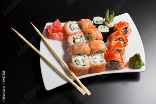 Japanese sushi seafood