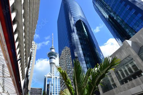 Aluminium Nieuw Zeeland Travel Photos NZ - Auckland Cityscape