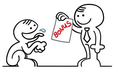 figur hechelt nach bonus