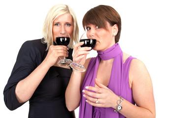 gemeinsam Wein trinken