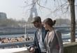 Sur la rive de la Seine - Paris