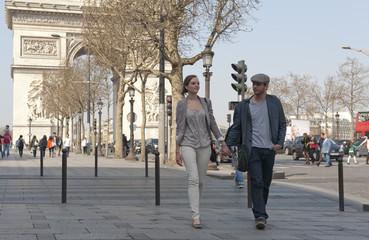 Les champs Elysées - Paris