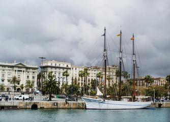 sail, barcelona