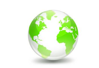 Best Green World globe