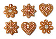 Christmas cookie gingerbreads