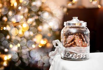 Christmas gingerbreads fantasy
