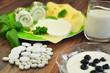 Nahrungsergänzung Cal/ Mag und Milchprodukte