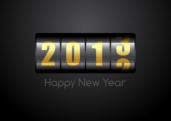 happy newy year counter 2013